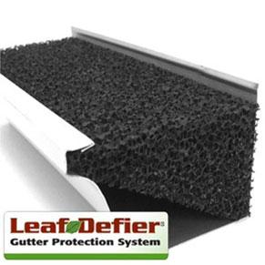 leaf defier gutter protection